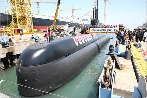 Korea Selatan Mengekspor 3 Unit Kapal Selam ke Indonesia