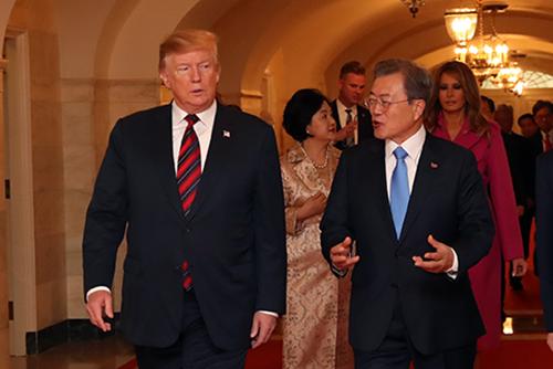 Trump will an Nordkorea-Sanktionen festhalten