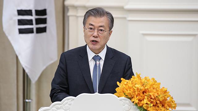 50,1 % ont un avis favorable aux politiques de Moon Jae-in