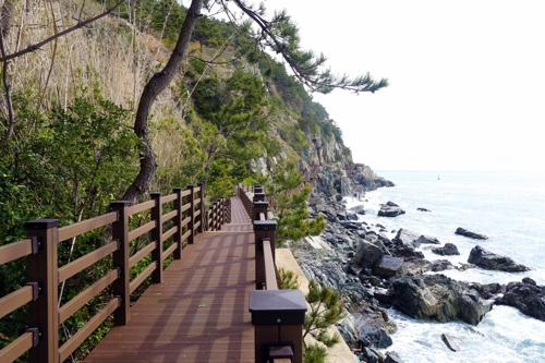 Busan Builds New Trekking Course to Provide Port Views