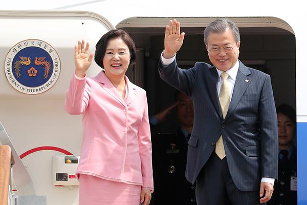 Presiden Moon Melawat ke Tiga Negara di Asia Tengah
