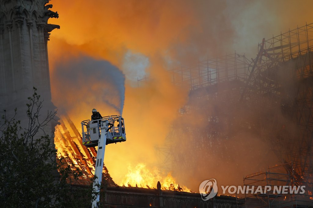 Feuer in Notre-Dame: Seoul äußert in Telegramm Bedauern