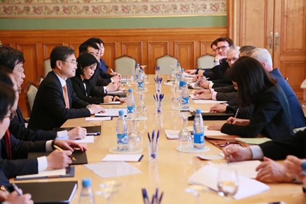 Wakil Menlu Korea Selatan dan Rusia Kerjasama Erat Demi Denuklirisasi Semenanjung Korea