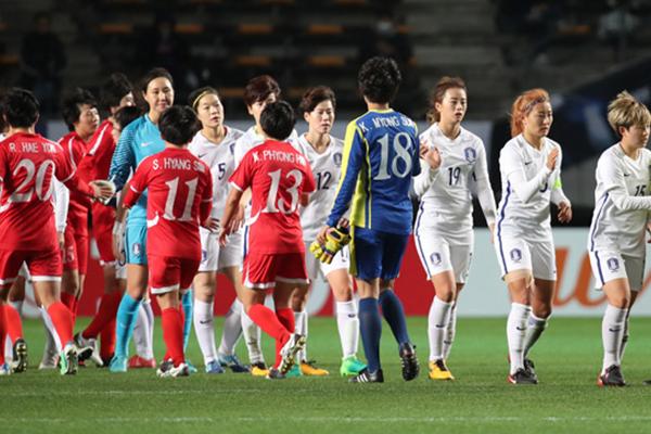 7월 4개국 U-18국제여자축구 교류전에 북한팀 참가