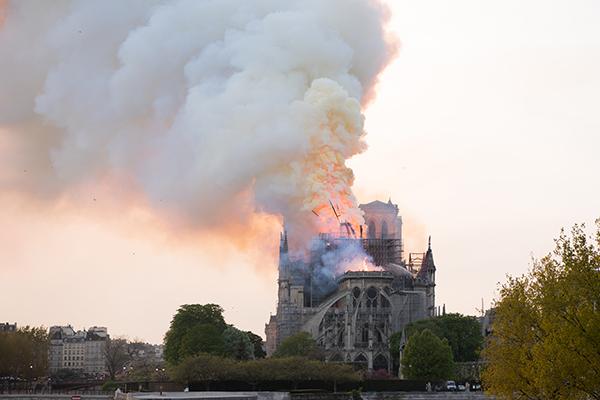 Kantor Administrasi Warisan Budaya Korea: Prihatin atas Kebakaran Katedral Notre-Dame