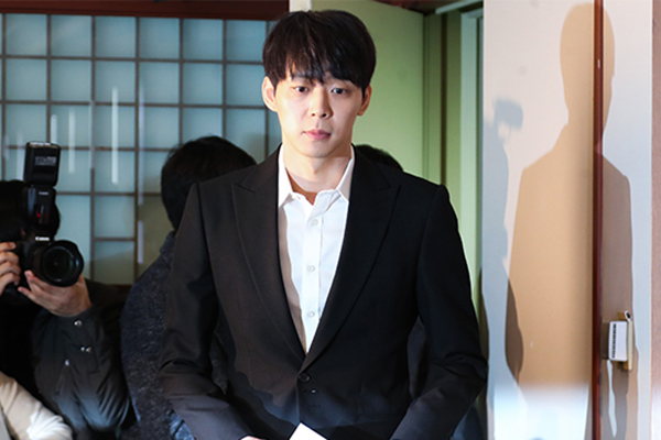 Police Raid Singer Park Yoo-chun's House over Drug Abuse Allegations