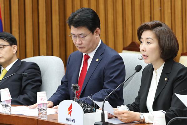 """나경원 """"'차명진 막말', 세월호 유가족에 아픔 드렸다면 유감"""""""