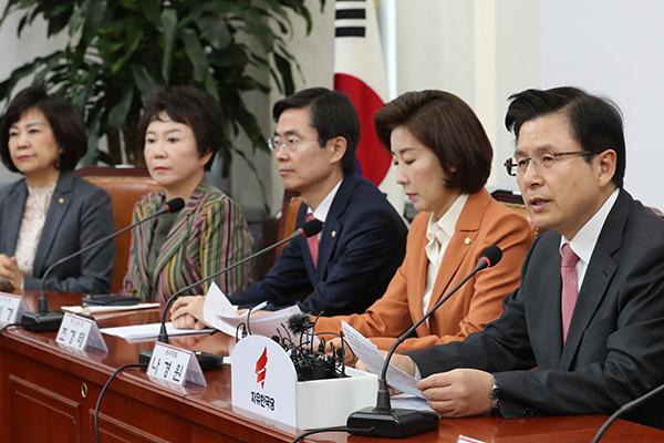 """황교안 """"박 전 대통령, 여성 몸으로 오랜 구금…국민 바람 이뤄지길 바라"""""""