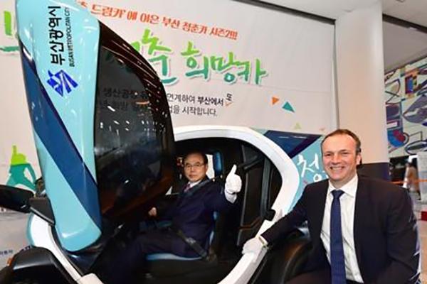 """르노삼성 시뇨라 사장 """"한국 시장에 투자 계속될 것"""""""