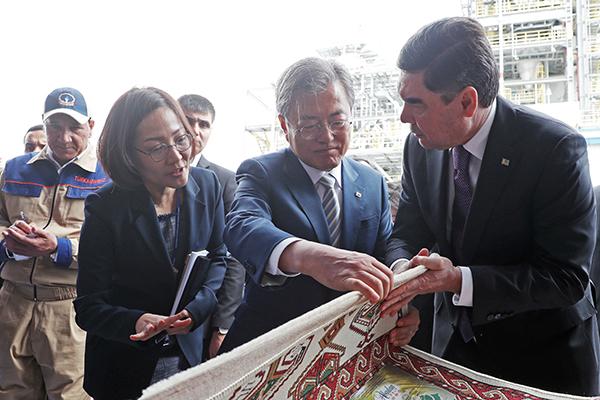 Президент РК надеется на продолжение совместных проектов с Туркменистаном