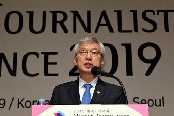 외교차관, '전쟁성폭력 근절' 국제회의 참석…위안부문제 꺼내나