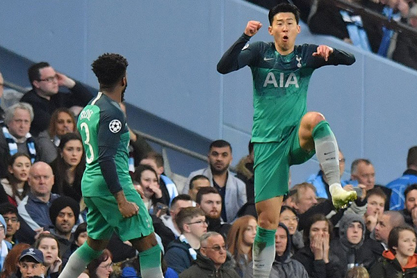 Son Heung-min Becomes Top Scoring Asian in Champions League History
