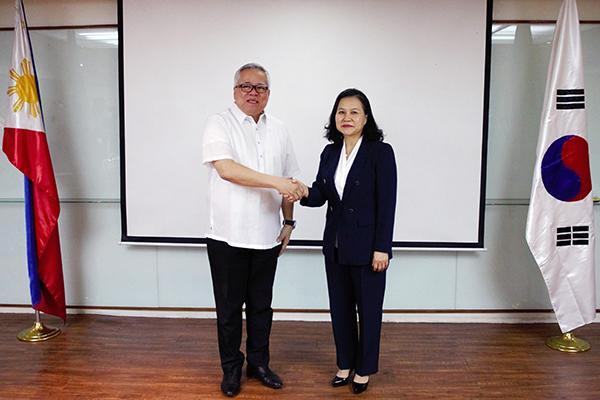 Südkorea und Philippinen einig über Streben nach Freihandelspakt