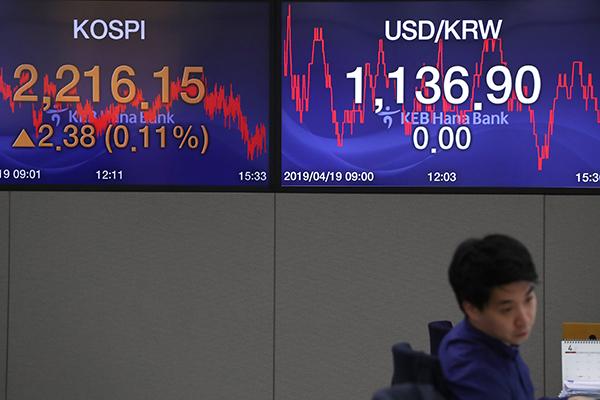 Südkoreas Börse schließt am Freitag etwas fester