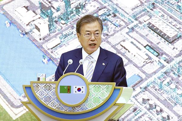 معدلات تأييد الرئيس مون جيه إين ترتفع إلى 48%