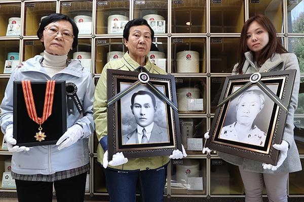 Los restos de independentistas repatriados ya descansan en el Cementerio Nacional