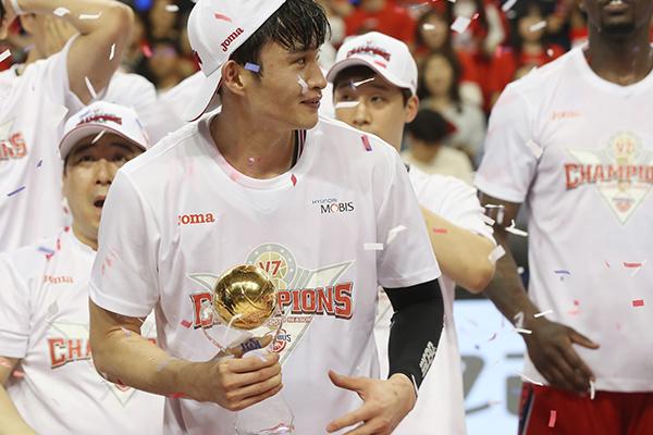 現代モービスが通算7回目の優勝へ 韓国プロバスケ