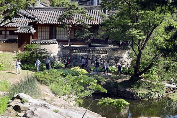 韓国伝統庭園「城楽園」 200年ぶりに公開