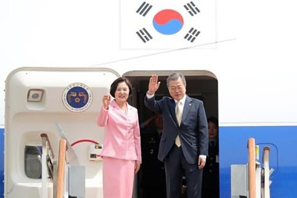 Tổng thống Moon Jae-in kết thúc chuyến công du ba nước Trung Á