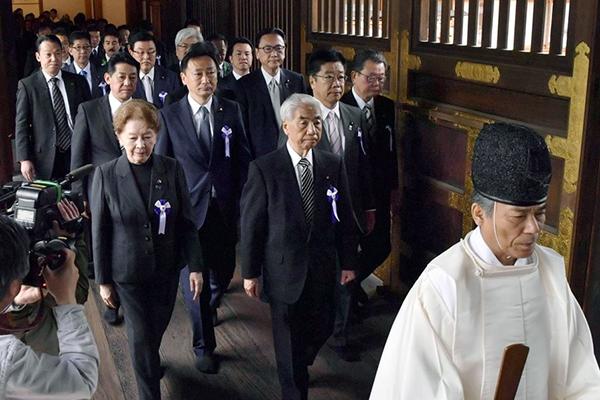 Séoul regrette le déplacement de parlementaires japonais au sanctuaire de Yasukuni