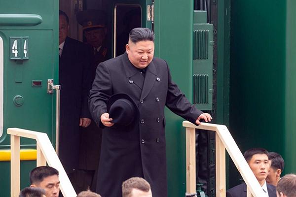 كيم جونغ أون يصل إلى روسيا