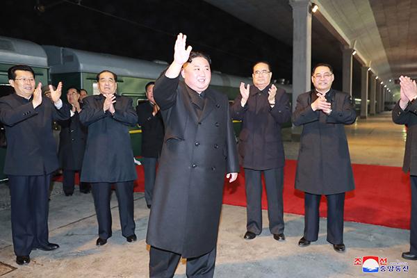 Kim Jong-un wird am Mittwochnachmittag in Wladiwostok erwartet