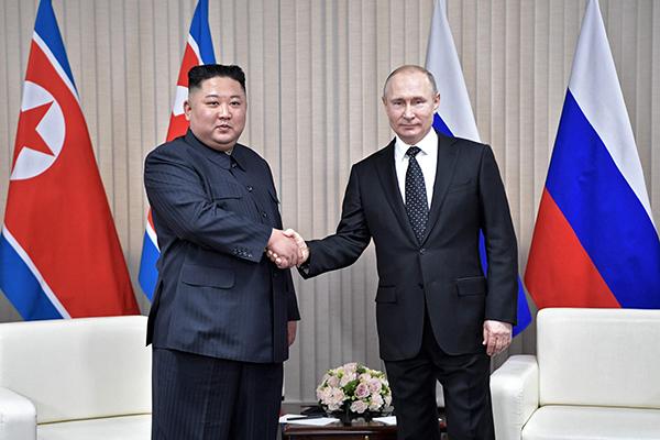 Nordkorea-Russland-Gipfel: Putin kündigt mehr Engagement für diplomatische Lösung von Korea-Frage an