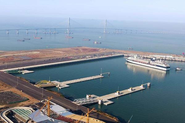 S. Korea's Largest Cruise Terminal Opens Fri.
