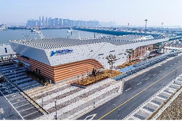 韓国最大級のクルーズターミナル 仁川港に26日にオープン
