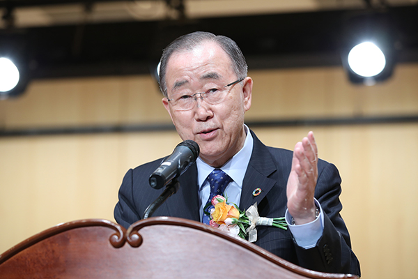 Ban Urges Nations to Fight Air Pollutants Not Each Other