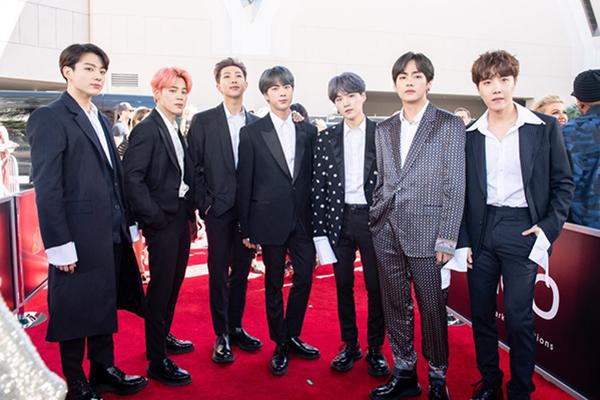 BTS mit zwei Preisen bei Billboard Music Awards ausgezeichnet