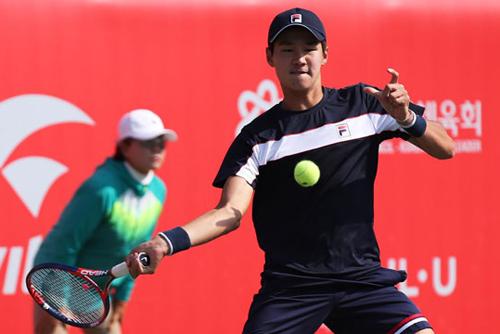 男子テニス クォン・スヌ ウィンブルドン準優勝ラオニッチに勝利