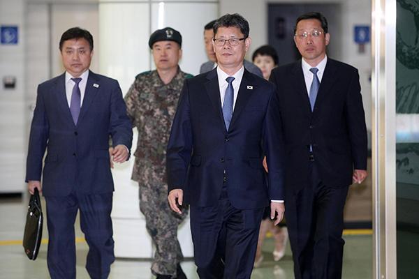 统一部长官金炼铁就任后首次访北 商讨南北联络事务所业务正常化
