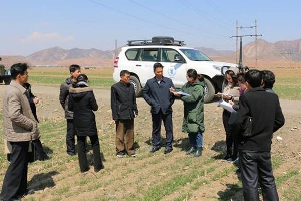 Quan chức Chữ thập đỏ Bắc Triều Tiên thăm Trung Quốc