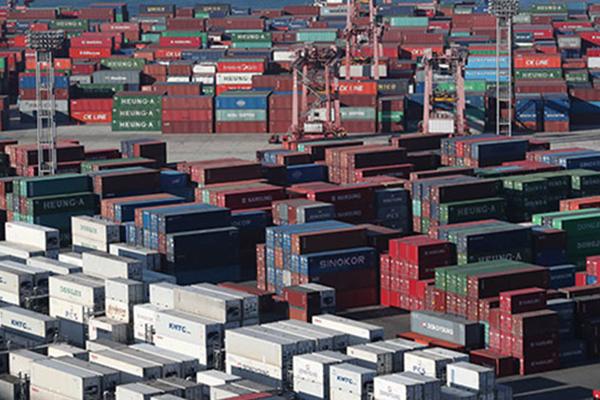 韩国出口严重依赖大企业 占比67%