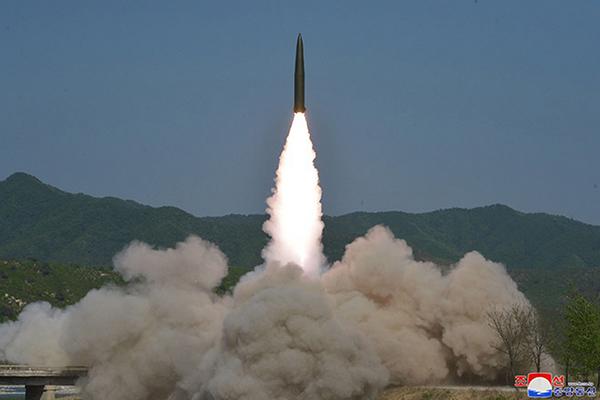 El Pentágono estima que Corea del Norte lanzó misiles balísticos de corto alcance