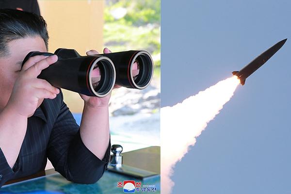 Kim Jong Un supervisó el lanzamiento del jueves