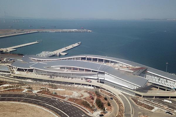 La nueva terminal internacional del puerto de Incheon operará desde junio