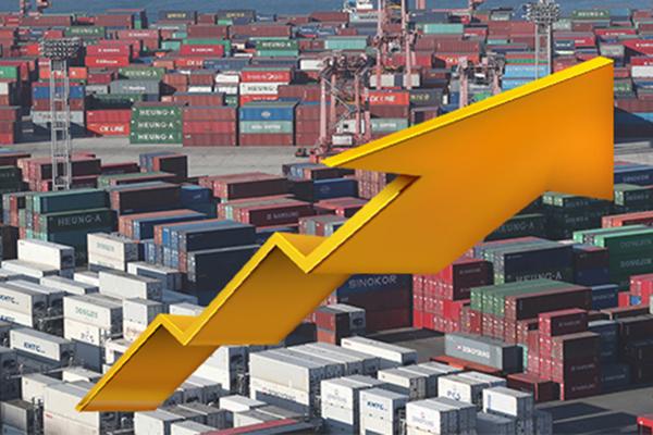 Индекс объёма экспорта в апреле вырос