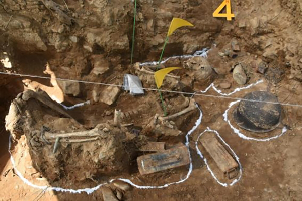 Complete Human Skeleton Uncovered During S. Korea's Excavation of War Remains