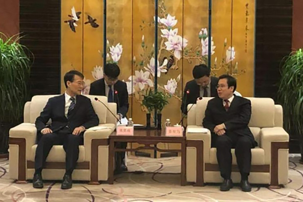 장하성 주중 대사, 선양시장에 '한국주' 행사 지지 당부