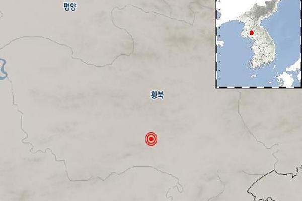 """북한 황해북도 평산에서 규모 2.4 지진…""""자연지진으로 분석"""""""