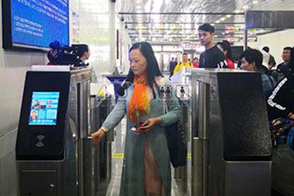 """중국 지안에 등장한 '북한 출입국 자동 심사 시스템'...""""8초면 통과"""""""