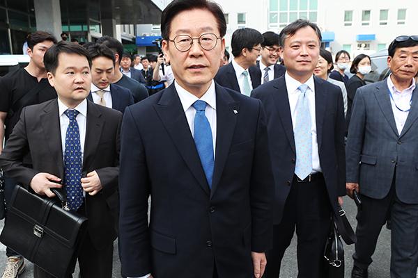 京畿道知事李在明一审被判无罪
