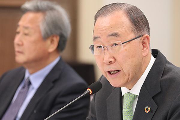 بان كي مون يحث الدول المعنية على مكافحة تلوث الهواء وليس الجدل فيما بينها