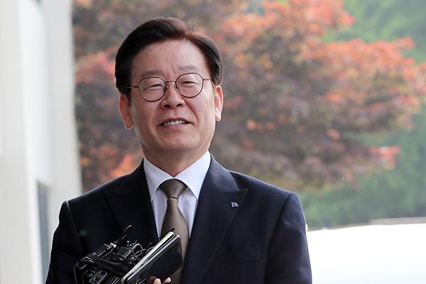 """이재명, """"국가권력 행사에 공정성 냉정함 유지해줬으면"""""""