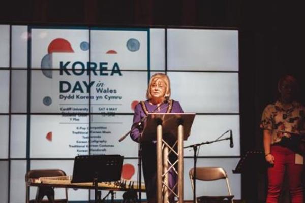한식에 'K-팝'까지…영국 웨일스에서 '한국의 날' 축제