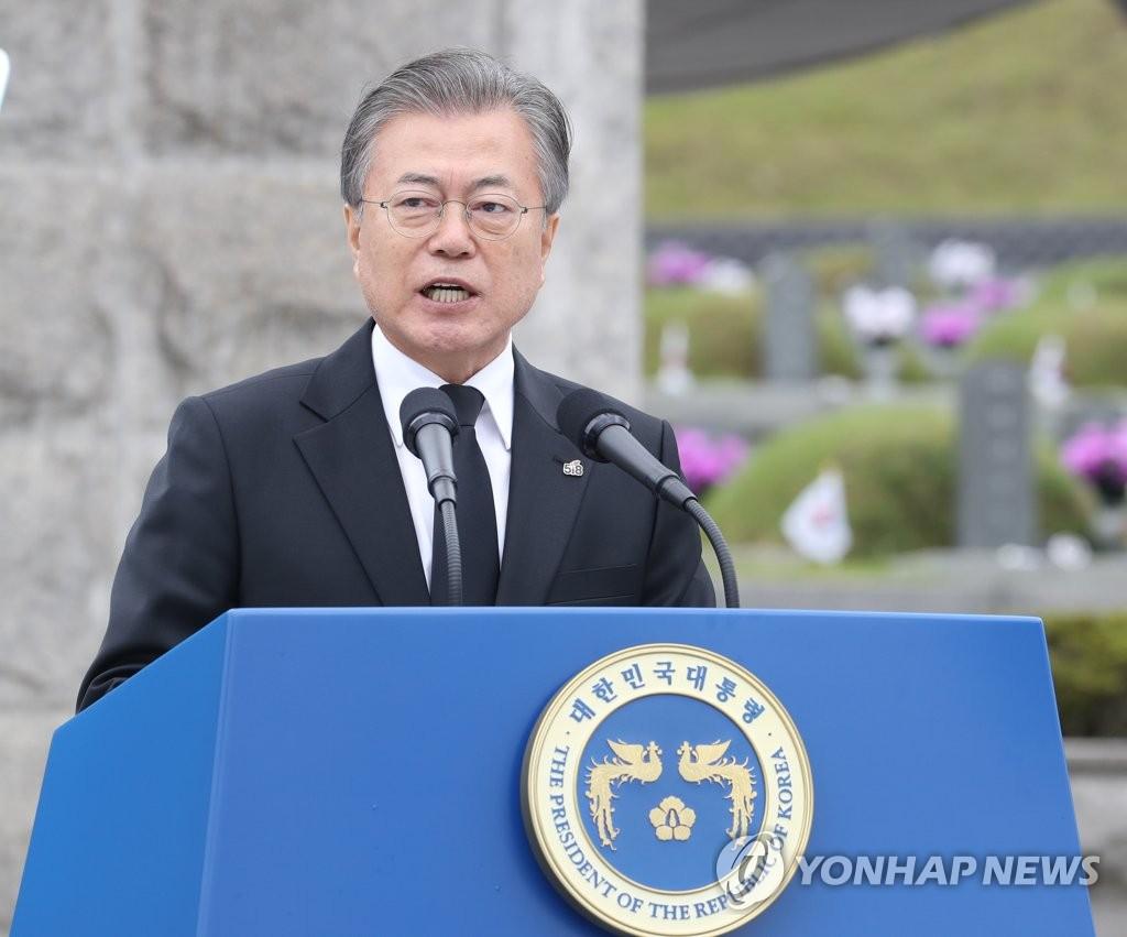 Moon Urges End to Ideological Dispute over Gwangju Pro-democracy Uprising