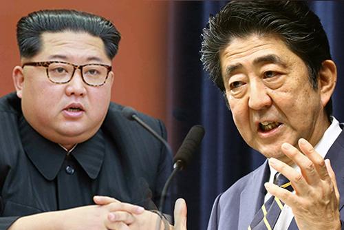 """아베,""""김 위원장과 허심탄회하게 얘기하고 싶다""""...선거 앞두고 발언 강화"""