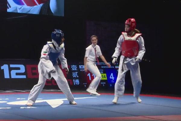 한국태권도, 세계선수권 남녀부 동반 우승